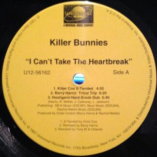 "Killer Bunnies - I Can't Take The Heartbreak (12"")"