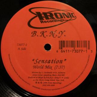 """B.K.N.Y. - Sensation (12"""")"""