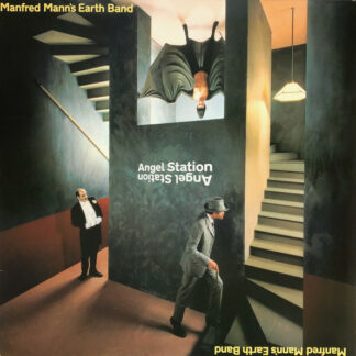 Manfred Mann's Earth Band - Angel Station (LP, Album)