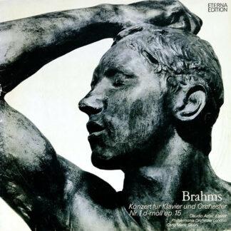 Brahms*, Claudio Arrau, Philharmonia Orchester London*, Carlo Maria Giulini - Konzert Für Klavier Und Orchester Nr. 1 D-moll Op. 15 (LP, RE, Bla)