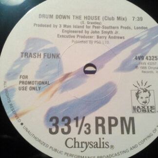 """Trash Funk - Drum Down The House (12"""", Promo)"""