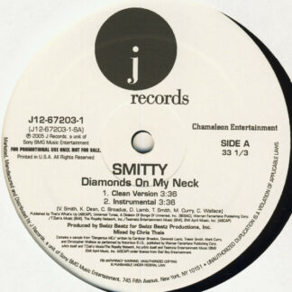 "Smitty (7) - Diamonds On My Neck (12"", Promo)"