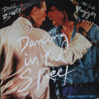 """David Bowie And Mick Jagger - Dancing In The Street (12"""")"""