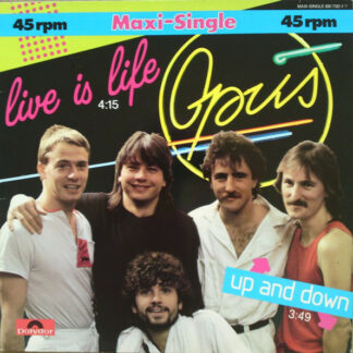 """Opus - Live Is Life (12"""", Maxi)"""
