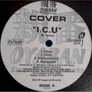 "Cover - I.C.U  / The Shut Down (12"")"