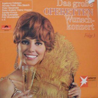 Various - Das Große Operetten Wunschkonzert Folge 3 (LP)
