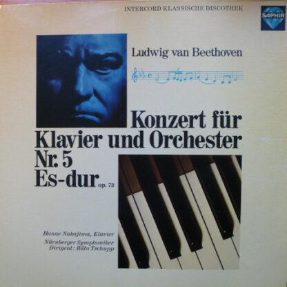 Ludwig van Beethoven - Konzert Für Klavier Und Orchester Nr. 5  Es-Dur  Op. 73 (LP)