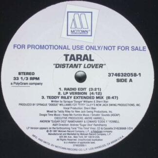 "Taral - Distant Lover (12"", Promo)"
