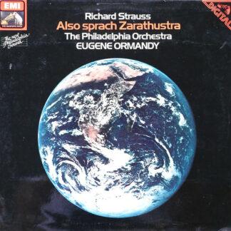 Richard Strauss, Eugene Ormandy, The Philadelphia Orchestra - Also Sprach Zarathustra (LP)