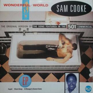 "Sam Cooke - Wonderful World (12"", EP)"