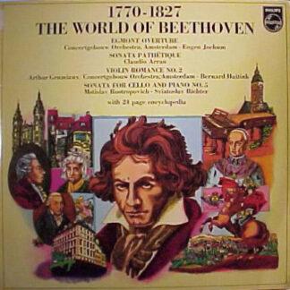 Claudio Arrau, Arthur Grumiaux, Bernard Haitink, Eugen Jochum, Sviatoslav Richter, Mstislav Rostropovich - De Wereld Van Beethoven (LP, Comp)