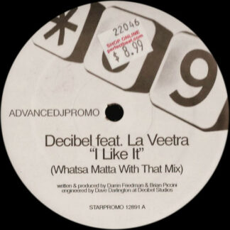 "Decibel Feat. La Veetra - I Like It (12"", S/Sided, Promo)"