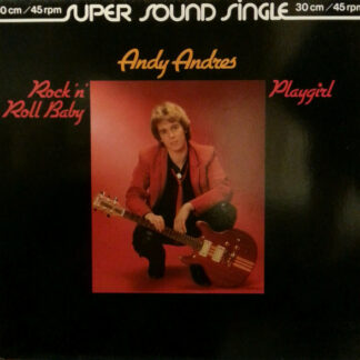"Andy Andres - Rock 'n' Roll Baby (12"", Single, Sup)"
