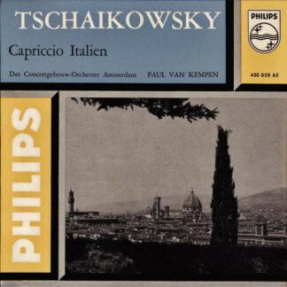 """Tschaikowsky*, Das Concertgebouw-Orchester Amsterdam*, Paul van Kempen - Capriccio Italien (7"""", EP, Mono)"""