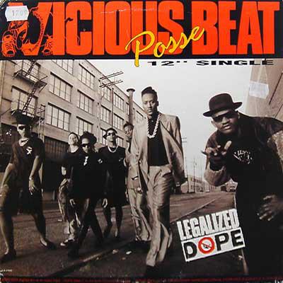 "Vicious Beat Posse - Legalized Dope (12"", Single)"