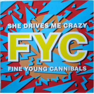 """Fine Young Cannibals - She Drives Me Crazy (12"""", Maxi, Red)"""