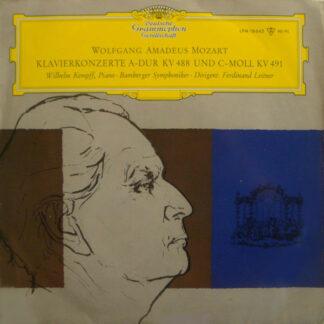 Wolfgang Amadeus Mozart - Wilhelm Kempff, Bamberger Symphoniker, Ferdinand Leitner - Klavierkonzerte A-Dur KV 488 Und C-Moll KV 491 (LP, Mono)