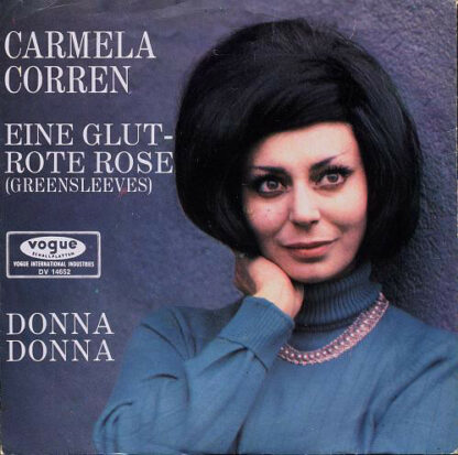 "Carmela Corren - Eine Glutrote Rose / Donna Donna (7"", Single)"