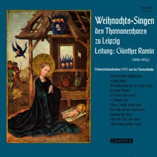 """Thomanerchor - Weihnachts-Singen Des Thomanerchores Zu Leipzig (10"""", RE)"""