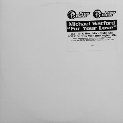 "Michael Watford - For Your Love (12"")"