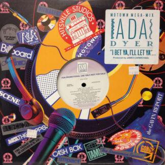 "Ada Dyer - I Bet Ya, I'll Let Ya (12"", Single, Promo)"