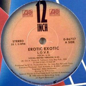 "Erotic Exotic - L.O.V.E. (12"", Single)"