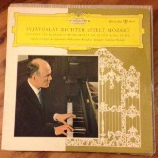"""Wolfgang Amadeus Mozart, Sviatoslav Richter - Konzerte Für Klavier Und Orchester Nr. 20 D-moll Kv 466 (10"""", Mono)"""
