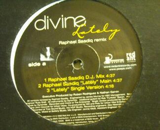 "Divine (2) - Lately (Raphael Saadiq Remix) (12"", Promo)"