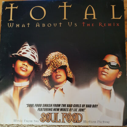 """Total - What About Us (The Remix) (12"""")"""