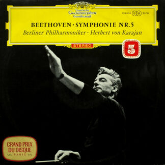 Beethoven* - Berliner Philharmoniker ‧ Herbert von Karajan - Symphonie Nr.5 (LP, RP)