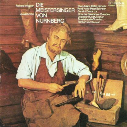 Richard Wagner, Herbert Von Karajan - Die Meistersinger Von Nürnberg, Ausschnitte (LP)