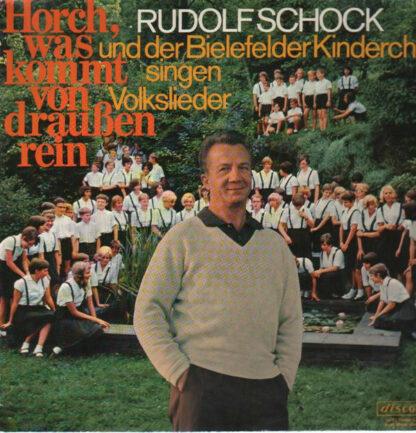 Rudolf Schock Und Der Bielefelder Kinderchor - Horch, Was Kommt Von Draußen Rein (LP, Club)