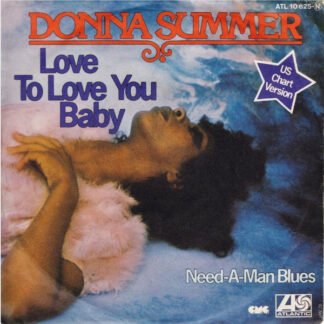 "Donna Summer - Love To Love You Baby (7"", Single, RE)"