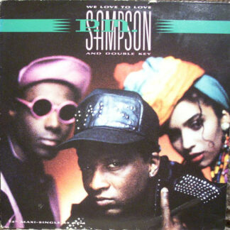"P.M. Sampson & Double Key - We Love To Love (12"", Maxi)"