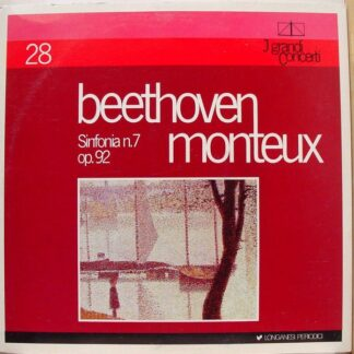 Beethoven*, Monteux* - Sinfonia N. 7 Op. 92 (LP, Mono)