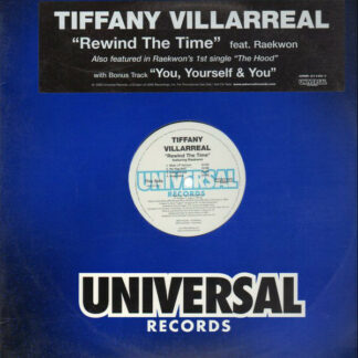 """Tiffany Villarreal - Rewind The Time / You, Yourself & You (12"""", Promo)"""