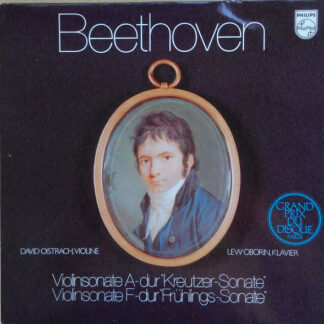 "Beethoven*, David Oistrakh*, Lev Oborin - Violinsonate A-dur ""Kreutzer-Sonate"", Violinsonate F-dur ""Frühlings-Sonate"" (LP, Club)"