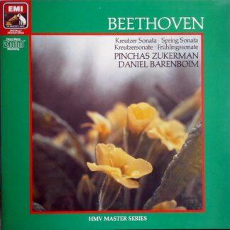 Beethoven*, Pinchas Zukerman, Daniel Barenboim - Kreutzer Sonata- Spring Sonata (LP, Comp, Club, RE, RM)