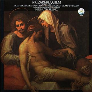Mozart* / Bach - Collegium Stuttgart*, Gächinger Kantorei Stuttgart, Helmuth Rilling, Arleen Auger, Carolyn Watkinson, Siegfried Jerusalem, Siegmund Nimsgern - Requiem Kv. 626 (LP)