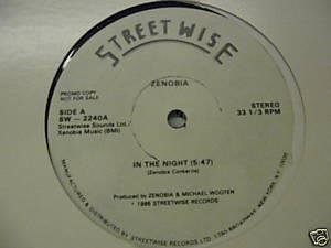 """Zenobia* - In The Night (12"""", Promo)"""