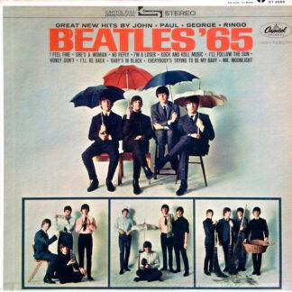The Beatles - Beatles '65 (LP, Album, Scr)