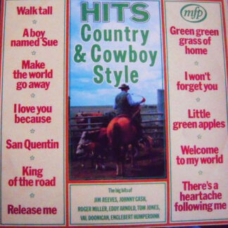Unknown Artist -  Hits - Country & Cowboy Style (LP, Comp)
