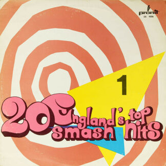Alan Caddy Orchestra & Singers - England's Top 20 Smash Hits - 1 (LP, Album, RP, Red)