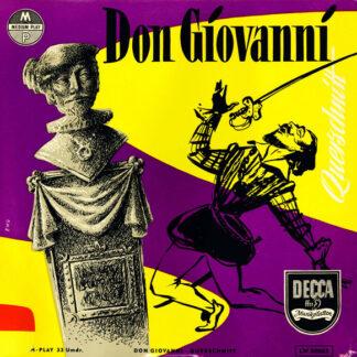 """Wolfgang Amadeus Mozart - Don Giovanni (Querschnitt) (10"""")"""