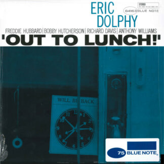 Eric Dolphy - Out To Lunch! (LP, Album, RE, RM)