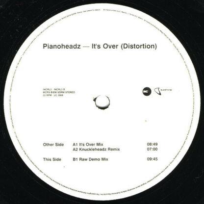 "Pianoheadz* - It's Over (Distortion) (12"")"