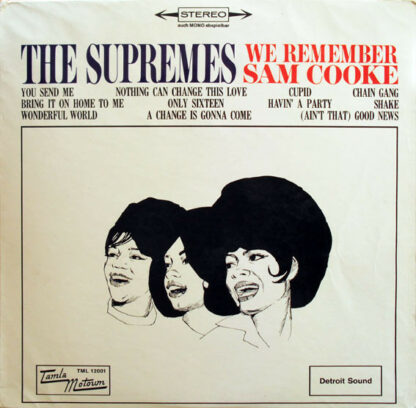 The Supremes - We Remember Sam Cooke (LP, Album)