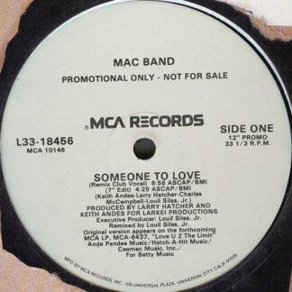 "Mac Band* - Someone To Love (12"", Promo)"