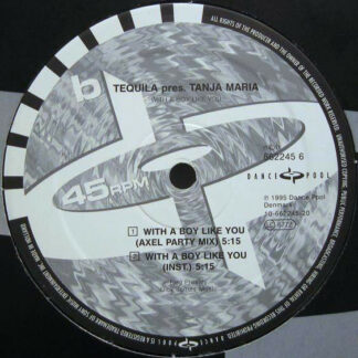 """Tequila (3) - With A Boy Like You (12"""")"""