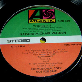 "Narada Michael Walden - You're #1 (12"", Promo, SP)"